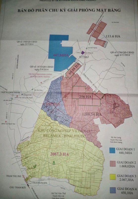 Chơn Thành hướng tới huyện công nghiệp vào năm 2020