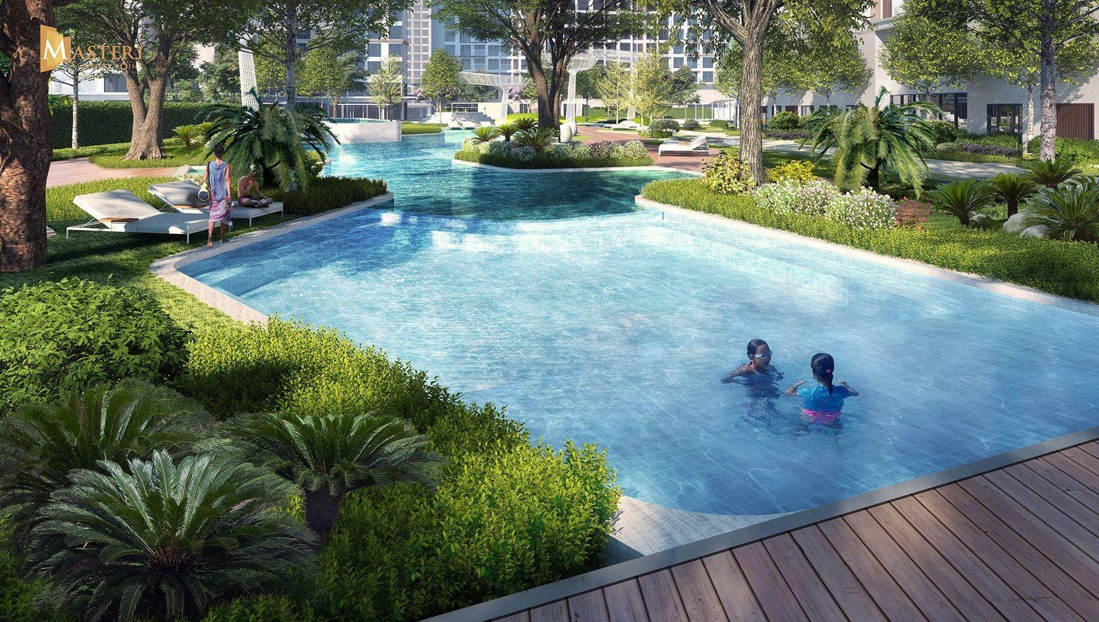 12. Hồ Bơi Trẻ Em Min